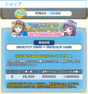 アニメ化記念GG